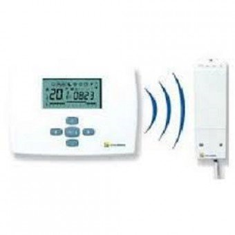 Thermostat d'ambiance programmable hebdomadaire, avec radio fréquence TRL 7.26 RF Elm Leblanc