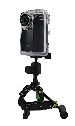 Brinno BCC200 Pro Bundle HDR Time Lapse Camera, Cronofotografia, Display LCD 1.44', Risoluzione Video 1280 x 720, Scheda SD 8GB Inclusa, Nero