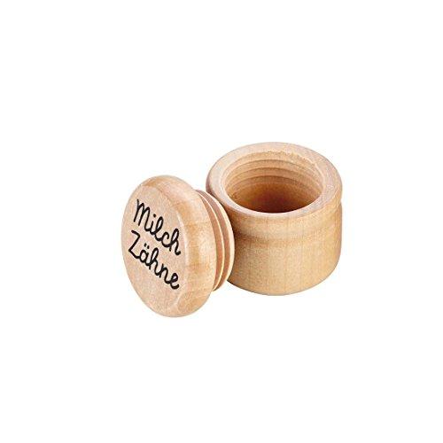 GOKI GK202 - Holzdose Milch Zähne, Milchzahndose