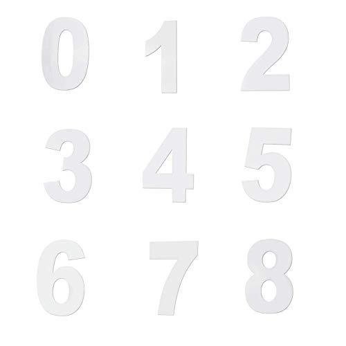 Zasiene Molde para Tartas con Número 9 Piezas Moldes Númer
