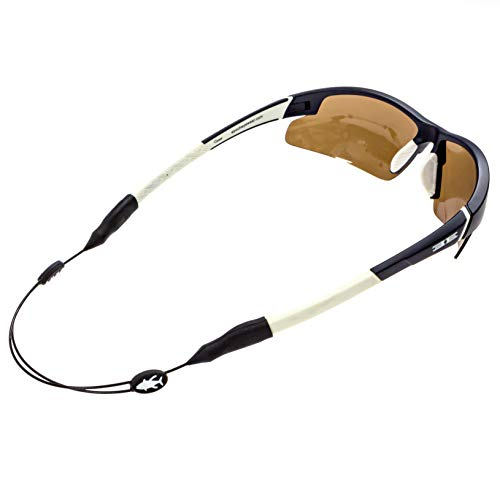 Luxe Performance Cable Strap - Premium Adjustable No Tail Sunglass Strap and Eyewear Retainer for Your Sunglasses, Eyeglasses, or Prescription Glasses (Fish)