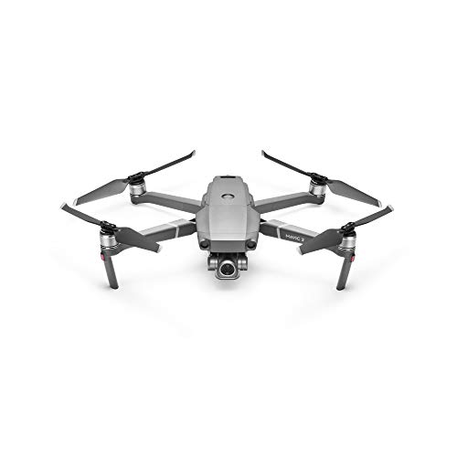 DJI Mavic 2 Zoom Drone con Zoom Ottico 24-48 mm, Sensore CMOS 1/2.3 12 MP, Super Risoluzione 48 MP, Dolly Zoom, Versatilit Estrema, Video Full HD con Zoom 4x Lossless, Grigio