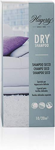 Hagerty Dry Shampoo Detergente in polvere per tappeti 500 g I Speciale shampoo secco specifico per tappeti delicati moquette tappezzerie I Smacchiatore per tappeti e detergente secco per tappezzerie