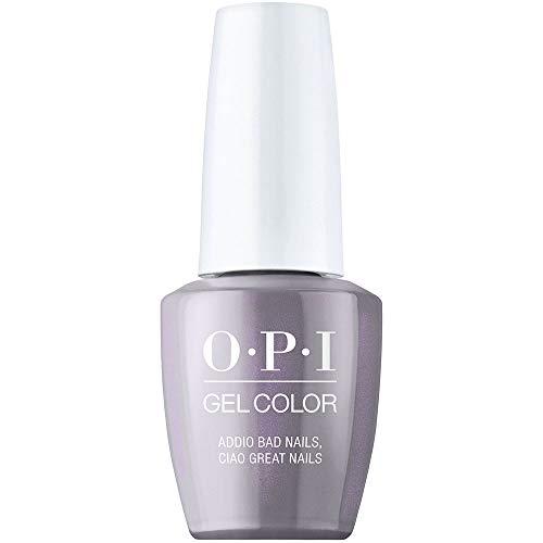 OPI Muse of Milan '20, GelColor Gel Nail Polish, Gel Color, Addio Bad Nails, Ciao Great Nails