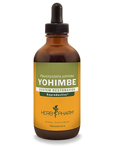 Herb Pharm Yohimbe Bark Liquid Extract for Male Reproductive System Support - 4 Ounce