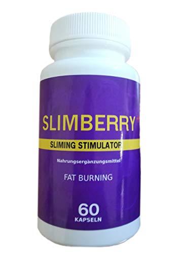 Slimberry + 400 mg Aronia Beeren (Apfelbeer) Goji Berry Acai Chill Pfeffer < Cayenne > (Capsaicinum - Capsicum - Capsaicin) Gewichtsabnahme Abnehmen FETT VERBRENNER Stoffwechsel 60 Kapseln