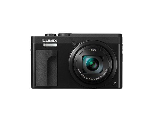 Panasonic Lumix DC-TZ90EG-K Cámara Compacta de 20,3 MP (Super Zoom, 10fps, Objetivo F3.3-F6.4 de 24-720mm, Zoom de 30X, Pantalla Abatible, 4K, Wifi, RAW, HDMI) Negro