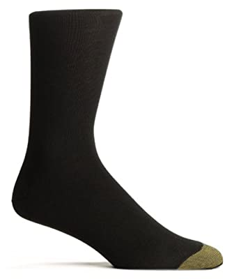 70% Mercerized Cotton, 27% Nylon, 3% Spandex Dress and casual weight sock Freshcare Moisture Management keeps feet dry and comfortable Imported Classic flat knit pattern
