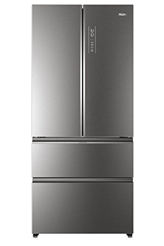 Haier HB18FGSAAA, Frigorifero con congelatore a cassetti, Iconic Glass, Libera installazione, ABT...