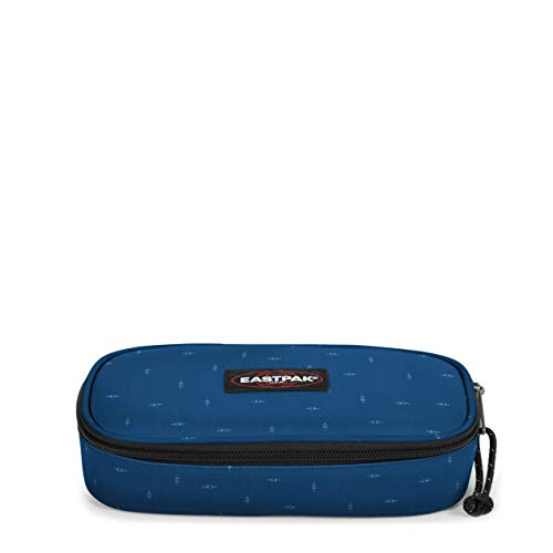 Eastpak Oval Single Astuccio, 22 cm, Blu (Tribe Arrows)