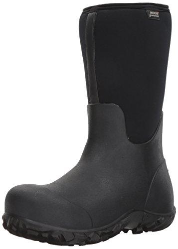 Bogs Men's Workman Composite Toe Boot, Black, 10 D(M) US