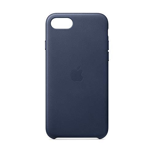 Apple レザーケース (iPhone SE用) - ミッドナイトブルー