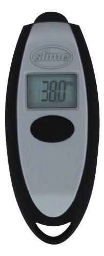 Slime 20112 Keychain Digital Tire Gauge, 5-150 PSI