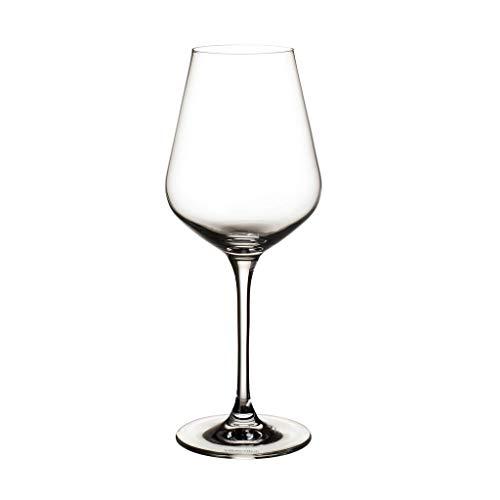 Villeroy & Boch La Divina set di bicchieri da vino bianco, 380 ml, 4 pezzi, cristallo, trasparente
