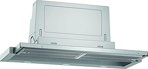 Neff D49ED52X1 - Cappa aspirante da incasso, con schermo piatto, N50, 90 cm, scarico o ricircolo, classe di efficienza energetica A, colore: Argento metallizzato
