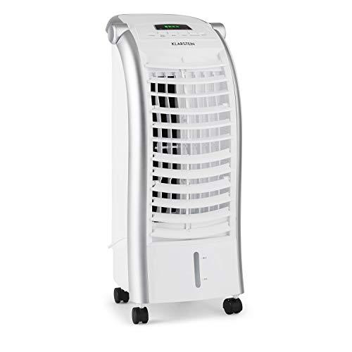 Klarstein Maxfresh - Raffrescatore Evaporativo, 3in1: Umidificatore, Ventilatore, Rinfrescatore,...