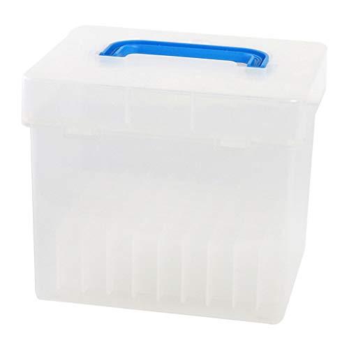 Custodia in plastica con 80 scomparti per pennarelli e pennarelli, adatta per pennarelli da 15 mm a...