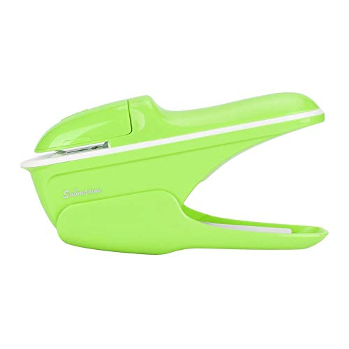 Pinzatrice senza pinzatura, ABS Senza pinzatrice Pinzatrice senza graffette Pinzatrice senza pinzatura(Green)
