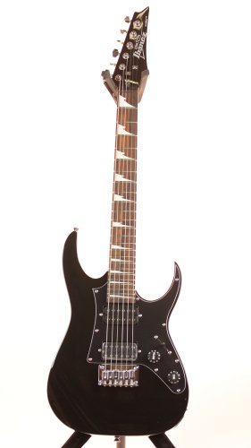 Ibanez GRGM21BKN 3/4 Size Mikro Electric Guitar - Black Night Finish