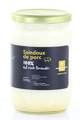 Manteca de cerdo negro del Limousin 100% natural - Origen Fr