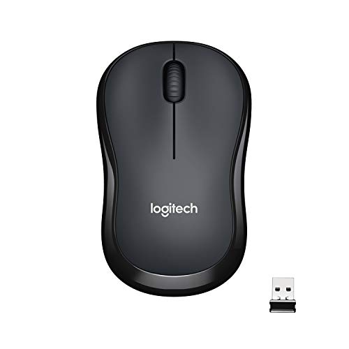 Logitech M221 Wireless Mouse, Silent Buttons, 2.4 GHz with USB Mini Receiver, 1000 DPI Optical...