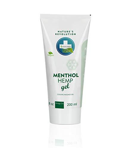 MENTHOL ARTHRO GEL EFECTO FRÍO - Gel de Cáñamo natural y vegano para alivio y masaje (200ml)