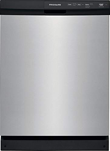 Frigidaire FFCD2413US 24' Built-in Dishwasher with 3 Wash Cycles, 14 Place Settings and Energy Star Certified, in Stainless Steel