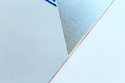 Lamiera in alluminio da 5 mm, taglio lamiera fino a 1000 x 1000 mm, 600, 800