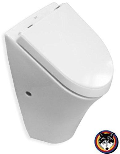 Roca NEXO Urinal Pissoir Absaugbecken mit Deckel weiss Softclose