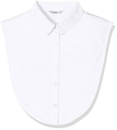 ONLY NOS Damen ONLSHELLY Weaved Collar Acc NOOS Halstuch, Weiß (Bright White Bright White), (Herstellergröße: One Size)