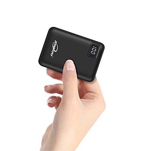 Batterie Externe 10000mAh Mini Ultra Compact Power Bank 2 USB Ports de 2.4A...