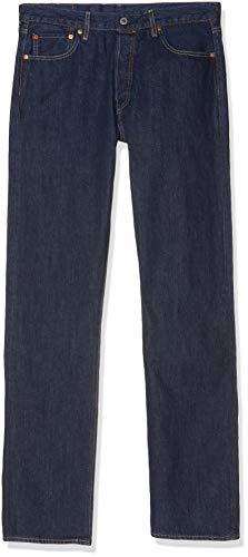 Levi's 501 Original Straight Fit, Jeans Straight, Uomo, Blu (Onewash 0101), 32W/30L
