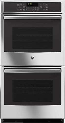 GE JK5500SFSS 27' Built-In Double Convection Wall Oven In Stainless Steel