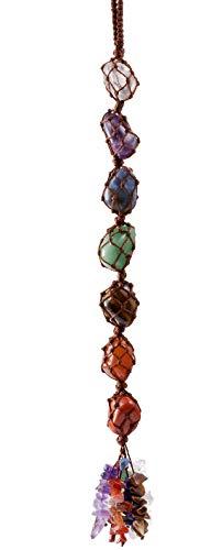 Top Plaza Gemstones Reiki Healing Crystals Hanging Ornament...