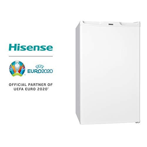 Hisense FV85D4BW1 Congelatore Sottotavolo Monoporta con 3 cassetti, Colore Bianco e Classe di...