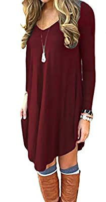 Fabric:95% Rayon+5% Spandex,Super soft, stretchy and lightweight,Can be easily dress up or dress down Features: casual style,asymmetrical hem lines,short length,V-Neck,Long Sleeve,Not lined Color: Acid Blue,Army Green,Wine red,Coffee,Light Blue,Beige...