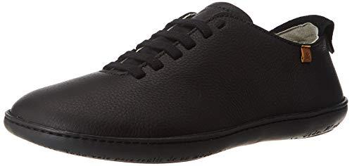 El Naturalista El Viajero, Zapatos de Cordones Derby Unisex Adulto, Negro (Black/Black Black/Black), 43 EU
