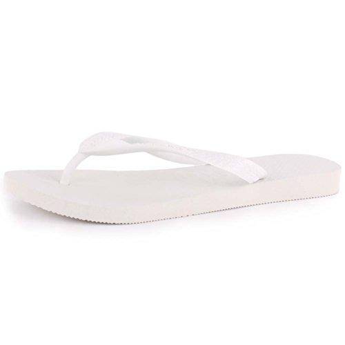 Havaianas Top, Infradito Unisex Adulto, Bianco (White), 35/36
