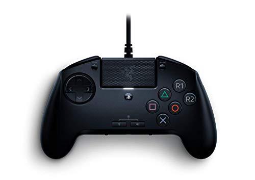 Razer Raion para PlayStation Gaming Arcade Fightpad para PS4 y PS5, diseño de 6 botones, botones de acción con interruptores mecánicos, pad direccional de 8 vías, conector de 3,5 mm, negro