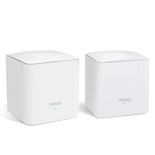Tenda NOVA Mw5S(2-Pack) Wall-Plug Whole Home Mesh WiFi System
