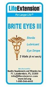 Life Extension Brite Eyes III, 2 Tubes, 5 ML Each