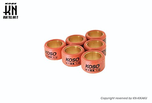 KOSO リモコン スーパー JOGZR ジョグZR VINO ビーノ アプリオ 3KJ 3YK ウエイトローラー 15 * 12 15×12 10g