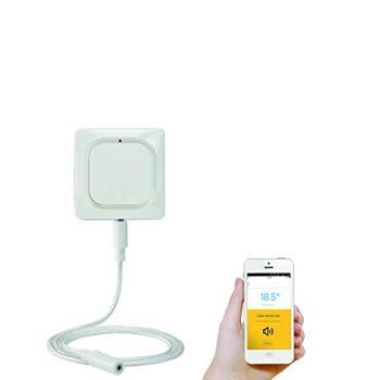 Honeywell Home W1KS Détecteur connecté de fuite d'eau W1, Blanc