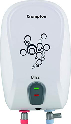 Crompton Bliss 3-L Instant Water Heater with Advanced 4 Level Safety (White)