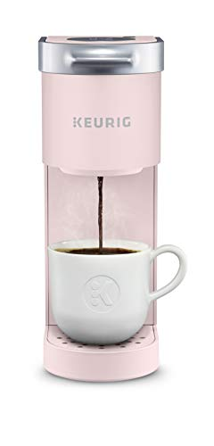 Keurig K-Mini Maker Single Serve K-Cup Pod Coffee Brewer, 6 to 12 Oz. Brew Sizes, Dusty Rose