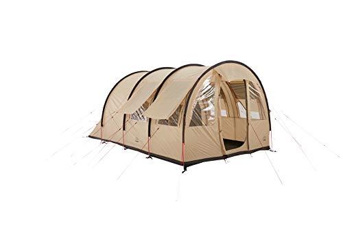 Grand Canyon HELENA 3 - tente tunnel pour 3 personnes   tente, tente familiale avec deux zones de couchage   Désert de Mojave (beige)