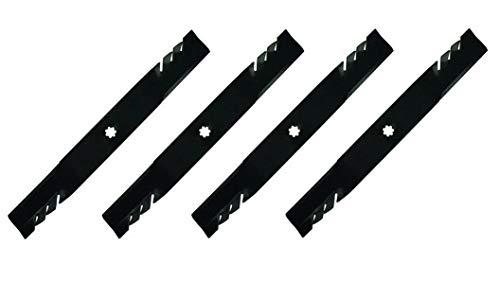 Parts (4) Blades for 42' John Deere LA100, LA110, LA120,...