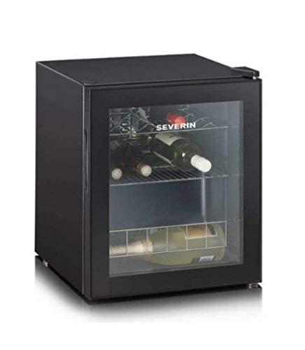 Severin KS 9889 Cantinetta, Capacit di 15 Bottiglie da 0,75 l, Temperatura Regolabile 4-18C, Nera