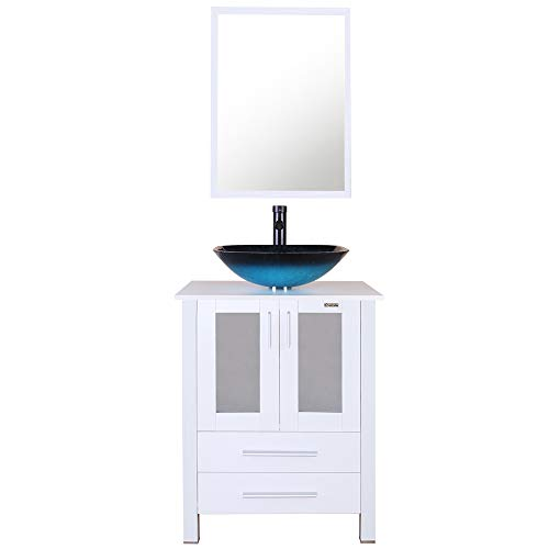 31TKDtpSTnL - Best Corner Bathroom Vanity For Small Spaces