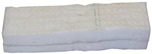 Hekers ceramic wool sponge 2pcs x 30x10x3cm bioethanol fire firplace firebox safety